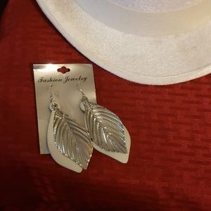Costume silver earrings Nickel free